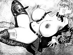 Largest Breasts in the World BDSM sex artwork