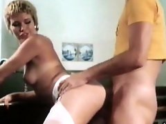 Stunning short-haired chick fuck with pleasure