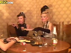 Hot Retro Style Sex Party