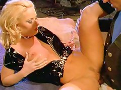 Mikki Taylor enjoys cunni and ardent doggy style pounding