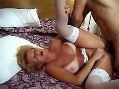 Busty vintage mature analed hard