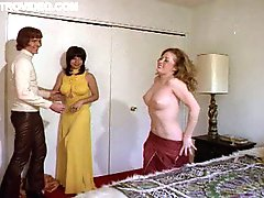 Spectacular Retro Threesome Featuring Cyndee Summers and Rene Bond