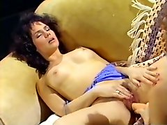 Alluring lesbians with slim bodies lick each others pussies
