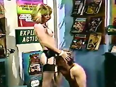 Filthy Vintage Tranny Hot Creamy Fucking