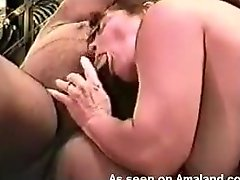 A guy films his wife fucking with a muscular ebony man