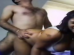 Fat Arabian slut Fatima gets harshly fucked in her hairy twat