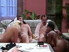 Classic Interracial Foursome