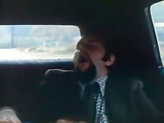 Sextractive vintage whore sucks cock in 69 position in the car