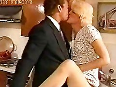 Blonde TS In Delightful Vintage Video