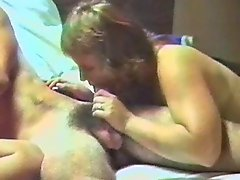Classic vintage video of a German threesome fuck